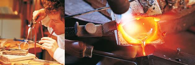 Goldschmiedearbeiten