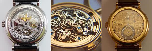 Reparatur antiker Uhren und Taschenuhren